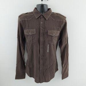Pop Icon clothing Button down shirt  M L31